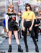 Harajuku Girls Streetwear w/ More Than Dope, Never Mind the XU, H&M, Rolling Stones & Bershka