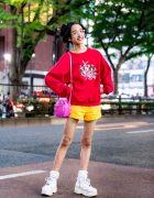 Colorful 1980s-inspired Streetwear w/ Looney Tunes, Peco Club, WC Harajuku & Yosuke