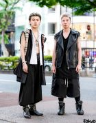 Sleeveless Remake Menswear Street Styles in Harajuku w/ Burberry, Undercover, Trove & Rick Owens