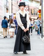 Gothic Japanese Street Style in Harajuku w/ Miho Matsuda, Alice And The Pirates & Kera Shop