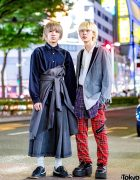 Harajuku Menswear Street Styles w/ KBF, Yohji, Comme des Garcons, Gosha Rubchinskiy, Bubbles & Takeo Kikuchi