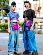 Vintage & Eclectic Harajuku Street Styles w/ Mandarin Collar Top, King Family, Demonia, Forever21, 0.14 & Oh Pearl Sling Bags