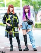 Japanese Streetwear Styles w/ (ME) Harajuku, Open The Door, Never Mind the XU, Demonia, DYOG & WEGO