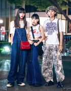 Harajuku Street Styes w/ Christopher Nemeth Rope Print, Nest Robe, Pinnap, Billion, Dolls Kill, Alexander McQueen, Rick Owens & TokyoHumanExperiments