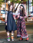 Harajuku Street Styles w/ Handmade Balloon Dress, Murral Lace Dress, Codona De Moda, Mikio Sakabe & Nude Trump