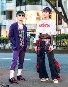 Harajuku Guys Streetwear Styles w/ Kawi Jamele, Tripp NYC, Vintage Looney Toons, Oh Pearl, Kangol & Ambush