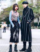 Tokyo Street Styles w/ M.Y.O.B., Kenzo, Rick Owens & Unknown Section