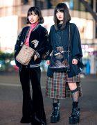 Harajuku Girls Streetwear Styles w/ Sukajan, Romantic Standard, Vivienne Westwood, Gucci, Faith Tokyo & Bubbles