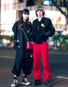Harajuku Duo in Christopher Nemeth, Alpha, Rick Owens, DRKSHDW, Tokyo Human Experiments & Stella McCartney