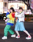 Harajuku Girls Colorful Fun Street Styles w/ Nana-Nana, San To Nibun No Ichi, Kiki, FILA, Tokyo Bopper, Yosuke & Vintage