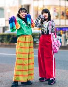 Colorful Japanese Street Styles w/ Candy Stripper, Little Sunny Bite, Aymmy In The Batty Girls, Pinnap & Vintage Fashion