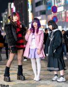 Harajuku Girls Street Styles w/ Killstar, Hellcat Punks, Demonia, Angelic Pretty, Nile Perch, Balmung & Kill Remote