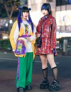 Tokyo Girls Street Styles w/ UF9193, OY, Demonia, Pinnap, RRR, WEGO & Romantic Standard