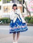 Baby, The Stars Shine Bright Lolita Street Fashion On The Street in Harajuku