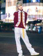 San To Nibun No Ichi & Pink House Harajuku Street Style w/ Marching Band Jacket