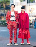 Comme Des Garcons Street Styles in Tokyo w/ Homme Plus 2007