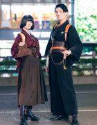 Harajuku Steampunk Kimono Styles w/ Hazy Moon Steamory, Excentrique, Shobuan & Massaging Capsule