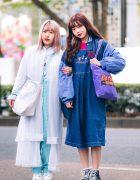 Harajuku Girls w/ Pink Hair, New York Joe Sheer Robe, Kiki, Kinji, Omocha Spiral, Hard Rock Cafe, Snoopy Jumper & Converse