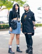 Harajuku Girls Streetwear Styles w/ Aqua Hair, Mabataki, Kinji, (ME) Harajuku, Shury & Yosuke