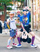 Kawaii Alien Street Styles w/ Gameboy, Mario Bros, M&Ms, 6%DOKIDOKI, Mickey Mouse & Tokyo Bopper Sneakers