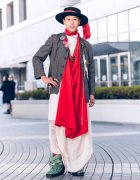 Bunka Fashion College Tokyo Street Style w/ Dries Van Noten, Robe de Chambre Comme des Garcons, Bed J.W. Ford, Aska Masuda & Christopher Nemeth