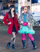 Tokyo Girls Street Styles w/ Tiara, Wool Coat, WEGO, Chicago, Tulle Skirt, Disney Villains Backpack & ABC Mart