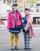Colorful Streetwear in Shibuya w/ Pikachu Ears, Kobinai, Listen Flavor, Aymmy In The Batty Girls, WEGO, RRR, & Demonia