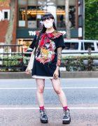 Japanese Idol Street Style w/ HEIHEI, Tattoo Sleeves, Meewee Dinkee, Vivienne Westwood, Never Mind the XU, Hysteric Glamour, Lily Rose & Yosuke