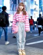 Pink Harajuku Style w/ Neon Moon, Fancy Surprise, Spank! & Tokyo Bopper