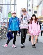 Harajuku Street Styles w/ Never Mind the XU, Joyrich, Vivienne Westwood & DTTK