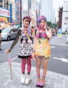 Colorful Harajuku Decora Girls w/ Omocha Party, 6%DOKIDOKI & My Little Pony