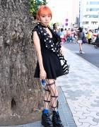 Maximum the Hormone Fan w/ Orange Hair, Tokyo Bopper & Marimekko x H&M