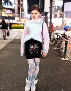 Minju Kim x H&M, Vivienne Westwood Space Bag & Furry Winged Heels