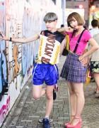 Cute Harajuku Street Styles w/ Raf Simons, Bubbles, WEGO & Listen Flavor