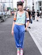 Cassette Playa x JuJu Jelly Shoes, Rainbow Odango & Kinji Harajuku