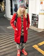 Harajuku Guy w/ Blonde Braids, Leopard Print, Joyrich & SPX
