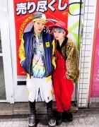 Ricky & Yui on the Street in Shibuya