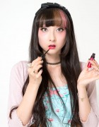 RinRin Doll's Sweet Pink & Brown Makeup Tutorial