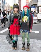 Blue Hair, Sexy Dynamite London, Jammin & Vivienne Westwood in Harajuku