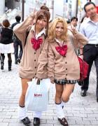 Classic Shibuya Kogal w/ Loose Socks & Sweaters