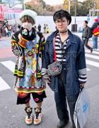 Walter Van Beirendonck, Keith Haring & Jeremy Scott in Harajuku
