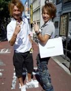 Two Smiling Shibuya Guys on Cat Street
