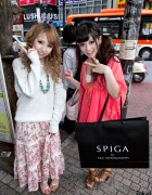 Shibuya Girls With Big Smiles & Turquoise Jewelry