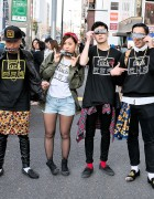 Style Icon Tokyo T-Shirts & Sweatshirts on the Street in Harajuku