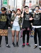 Style Icon Tokyo T-Shirts & Sweatshirts on the Street in Harajuku