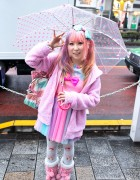 Suiya from DecoLa Hopping w/ Fairy Kei Fashion in Harajuku
