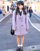 Pastel Coat, Swankiss, Bubbles Harajuku & Vivienne Westwood on Cat Street