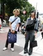 2 Cool Japanese Guys in Harajuku