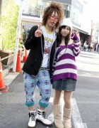 Shibuya 109-2 Style Guy & Exile Girl in Harajuku