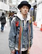 Swagger Backpack & Phenomenon Pants in Harajuku